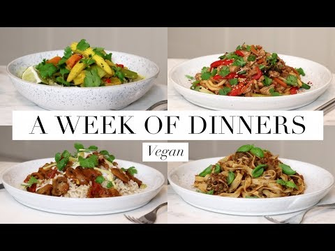 What I Ate for Dinner This Week #3 (Vegan/Plant-Based) | JessBeautician