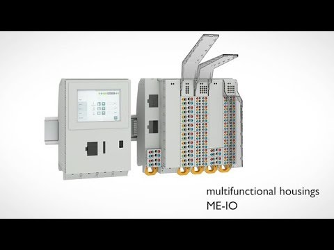 Housing solution ME-IO for modular control systems