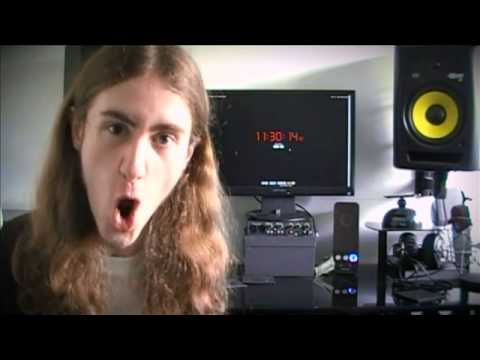 The Death Metal Guy For Online Clock