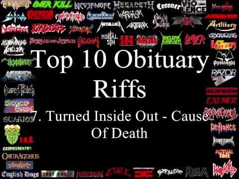 Obituary Top 10 Riffs
