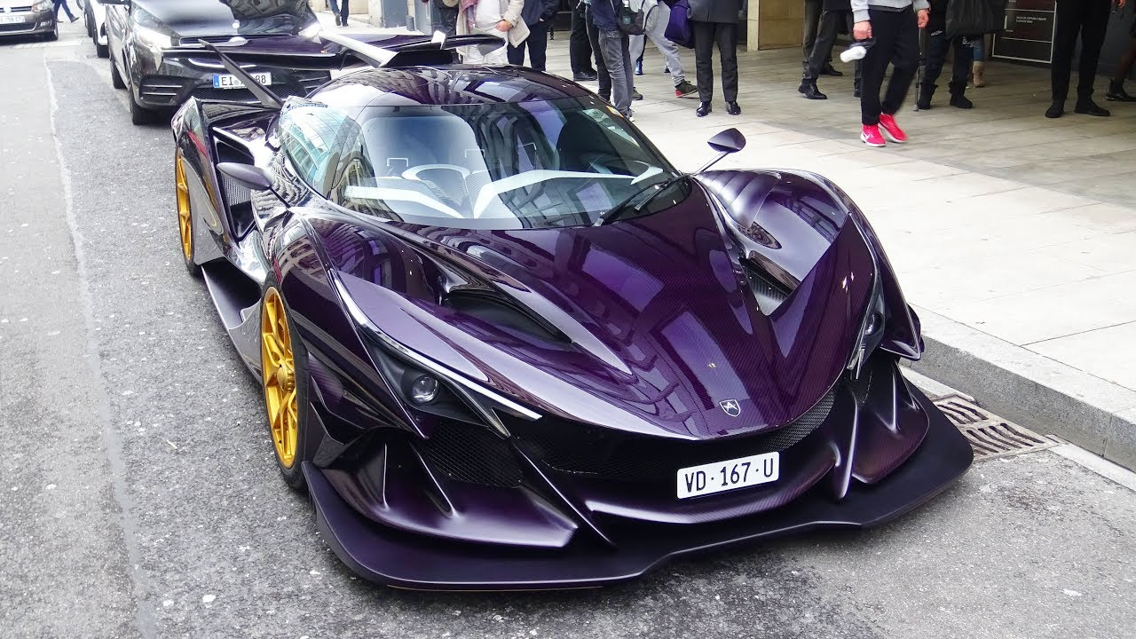 2 3 Million Apollo Ie Hypercar Crazy Sound And Revs On Road