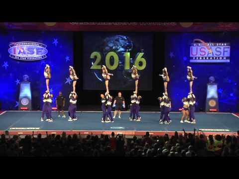 Rockstar Cheer - Rolling Stones [2016 International Open Large Coed Level 5 Trials]