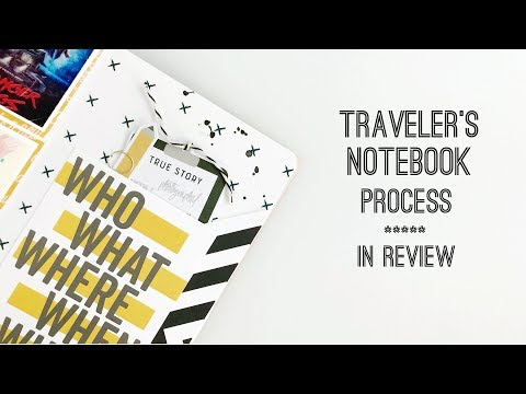 Traveler's Notebook Process | Feed Your Craft DT In Review Kit