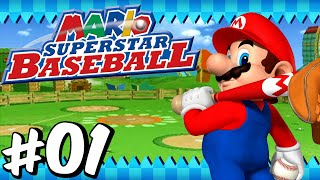 Mario Superstar Baseball: Challenge Mode - Part 1 - VS Team Yoshi