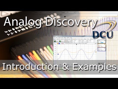 Analog Discovery - An Introduction with Practical Analog & Digital Examples (diode, flip-flop & i2c)