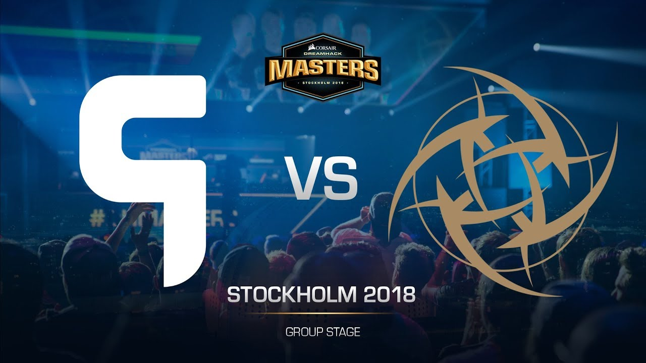 Ghost vs NiP. Match 30.08.2018 on Dreamhack Stockholm 2018 ...