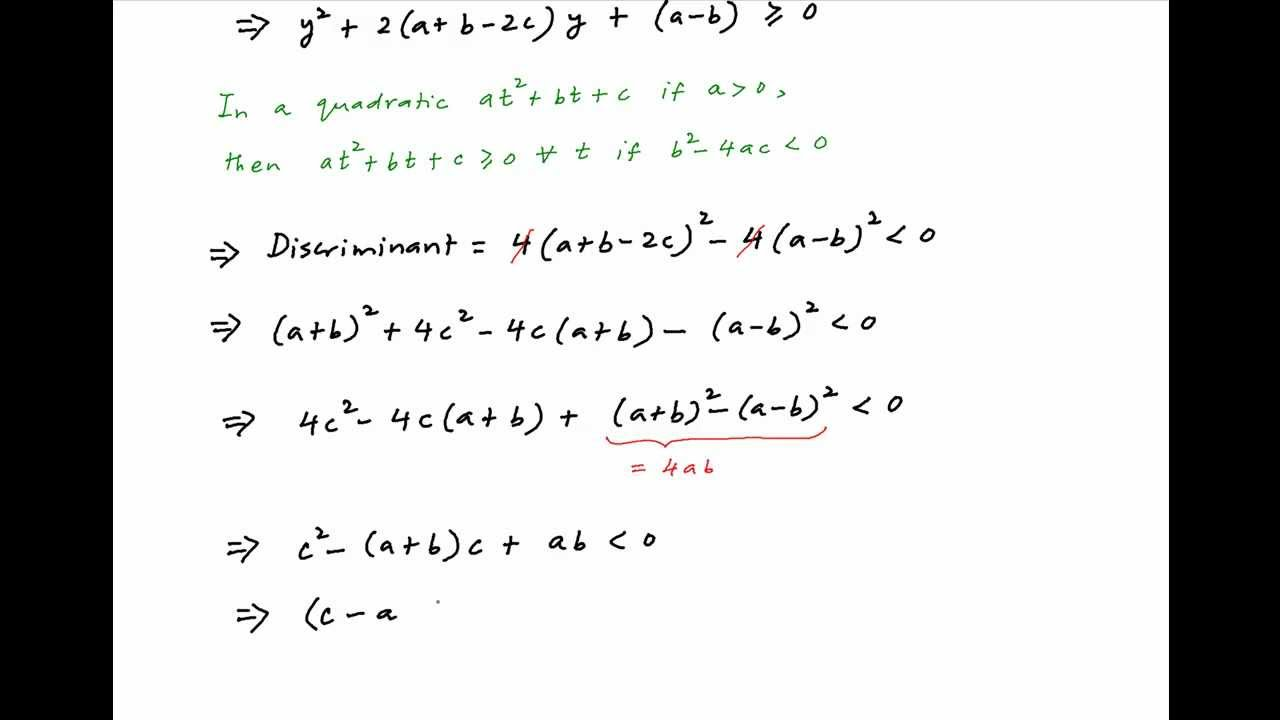 Find Condition Under Which X Ax B X C Will Assume All Real Values Given That X Is Real