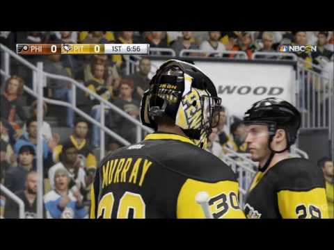 NHL 17 - Philadelphia Flyers vs Pittsburgh Penguins | Gameplay (HD) [1080p60FPS]