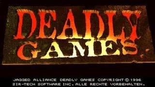 Jagged Alliance: Deadly Games gameplay (PC Game, 1996)