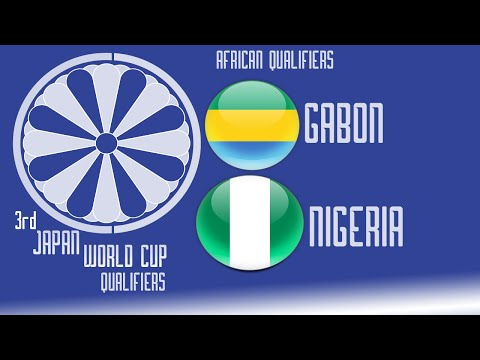 Gabon vs Nigeria - FIFA14 - 3rd Japan World Cup Qualifiers - 60fps