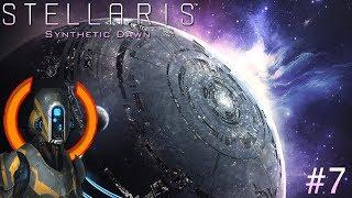 Stellaris: Synthetic Dawn #7 Планирование секторов и колонизация