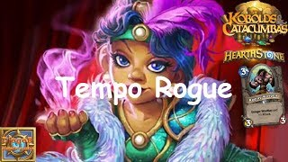 Hearthstone: Arena: Tempo Rogue #5 Kobolds and Catacombs