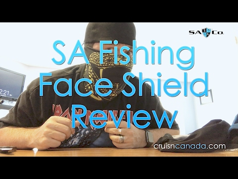 SA Fishing Fleece and Standard Face Shield Review
