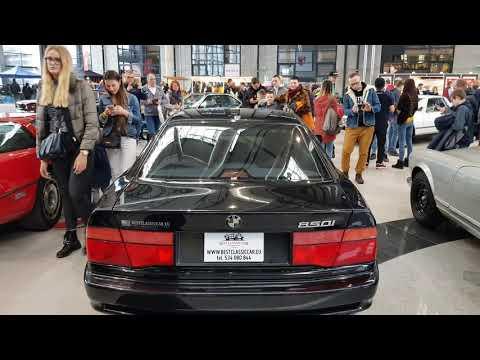 Zabytkowe BMW 850i E31 ac schnitzer Review