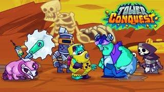 Tower Conquest ТЯЖЕЛАЯ БИТВА! Игровой Мультфильм для детей БОИ и СРАЖЕНИЯ от Cool GAMES