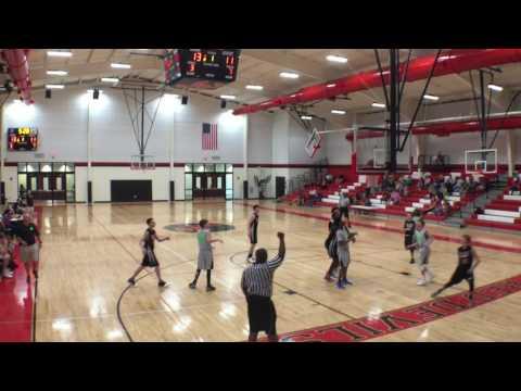 4-2-17 - Tri Cities Jaguars - 51 vs Shoals Thunder - 47 - 8th Grade Boys - Double Overtime