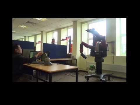 Teleoperation of Baxter Robot using Phantom Omni