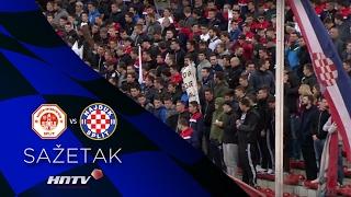 HNTV Sažetak: SPLIT Vs HAJDUK 1:1 (21.kolo, MAXtv Prva Liga 16/17)