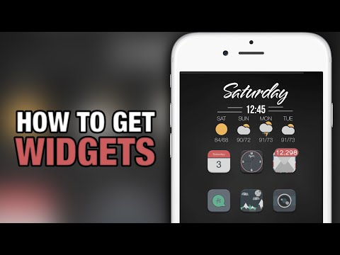 How To Get Widgets On iPhone