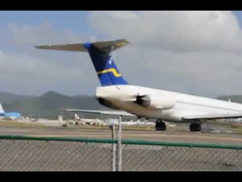 Maho Beach Sint Maarten AIRPORT BEACH BLASTING