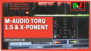 m audio torq 1 5 x ponent digitaljockey lab