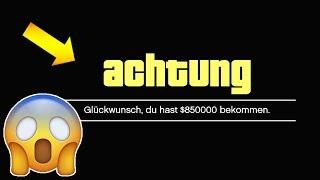 ACHTUNG!😱 SCHNELL GELD IN GTA 5 BEKOMMEN! 💰 SOLO MONEY GLITCH INFO IN GTA 5 ONLINE! 💰