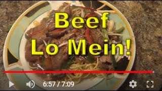 Beef Lo Mein - Ny The Cook
