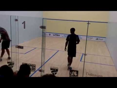 John White vs Adrian Grant 5th game (2015 US Squash Open, Philadelphia)