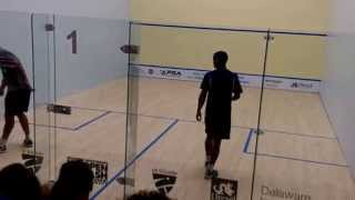 john white vs adrian grant 5th game 2015 us squash open philadelphia