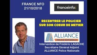 RECENTRER LE POLICIER SUR SON CŒUR DE MÉTIER