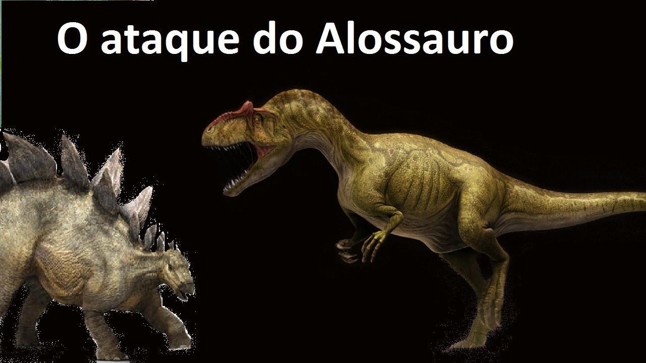 O ataque dos Alossauros