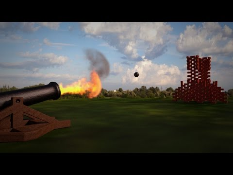 Blender Tutorial - Smoke, Fire & Cannonballs