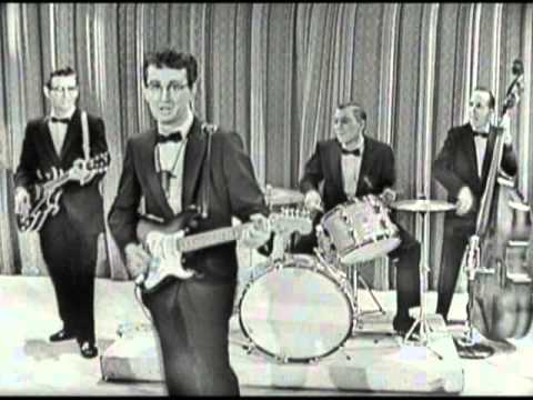 Buddy Holly & The Crickets - Peggy Sue (Sullivan 1957)