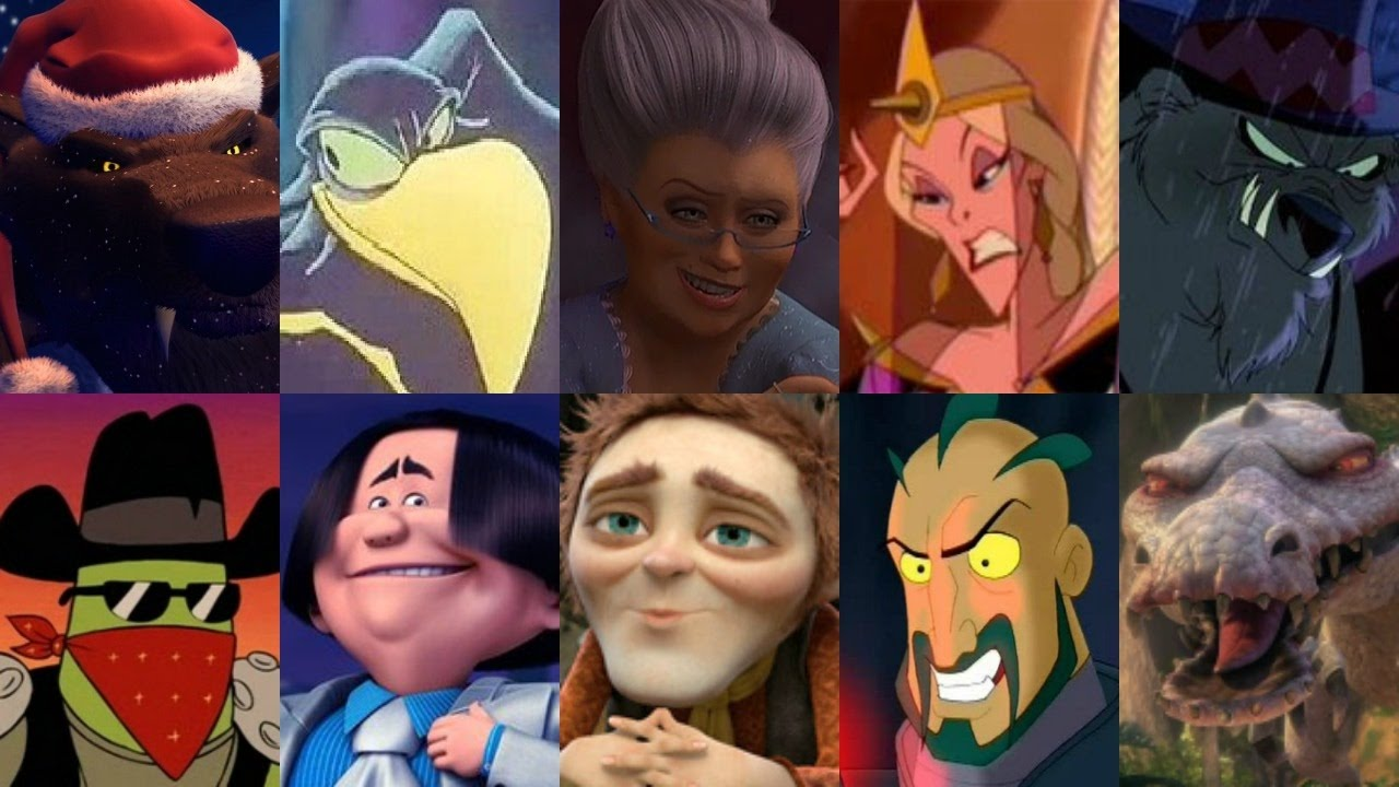 Defeats of my Favorite Animated Non-Disney Movie Villains Part XVI