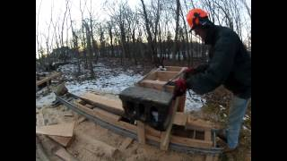 Wooden Sawmill, Day 2