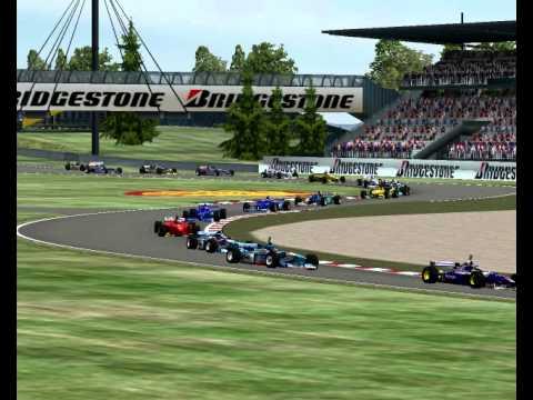 F1 1997 Nurburgring European Grand Prix permitindo que as peças como os spoilers frontal  Mod Race Formula 1 GP F1 Challenge 99 02 F1C 4 Championship 2012 2013 2014 2015 18 14 02 42 234 4