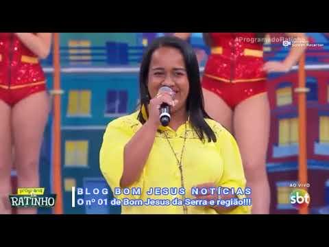 Camila Novais no Programa do Ratinho: Jovem de Bom Jesus da Serra participa do quadro