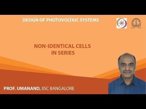 PV13: Non-identical PV cells in series