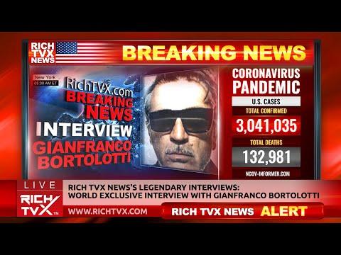 Rich TVX News's Legendary Interviews: World Exclusive Interview With Gianfranco Bortolotti