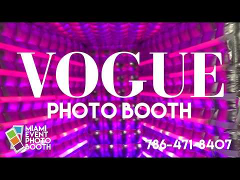 vogue-photo-booth-miami---led-lights