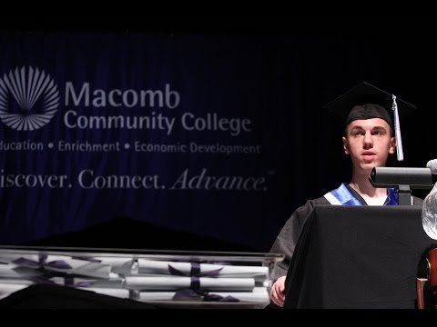 Macomb Community College 2015 Winter Commencement