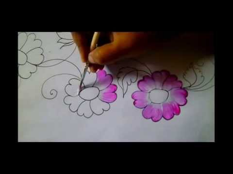 How To Make Bed Sheet Painting