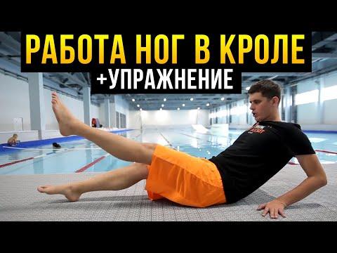 Работа ног при Плавании Кролем. Техника плавания + домашнее упражнение