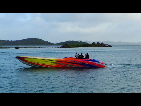 Pipe & Tattoo British Virgin Islands Big Catamaran  Shoot Out 2017