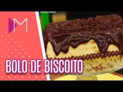 Bolo de biscoito - Mulheres (04/05/18)