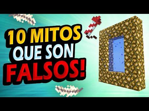 ✅ 10 Mitos de Minecraft que son FALSOS!! #3 - Bobicraft