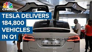 Tesla delivers 184,800 vehicles in Q1 2021