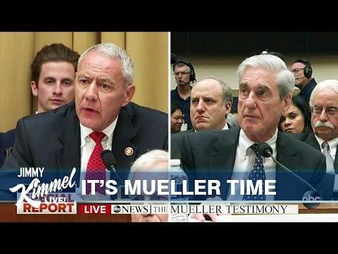 Watch Jimmy Kimmel Slam Congressional Trump Stooges Over Mueller Hearing