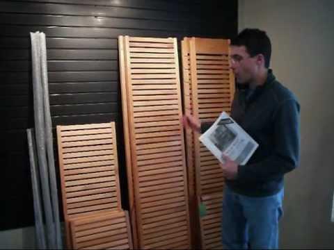 John Louis Home Closet In A Box Wood Shelving