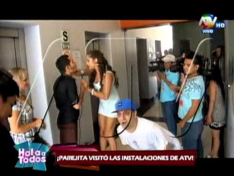Lo que grabó la cámara de vigilancia de la visita de Alondra y Paolo a ATV